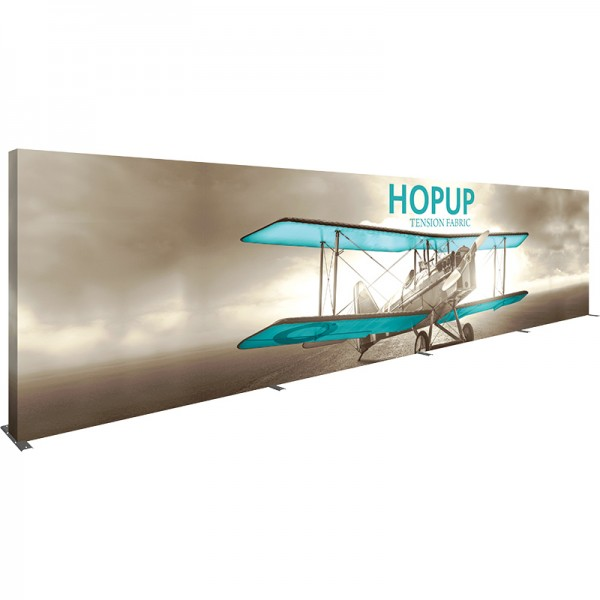 Extra Wide 30ft Wide x 8ft High Tension Fabric Display