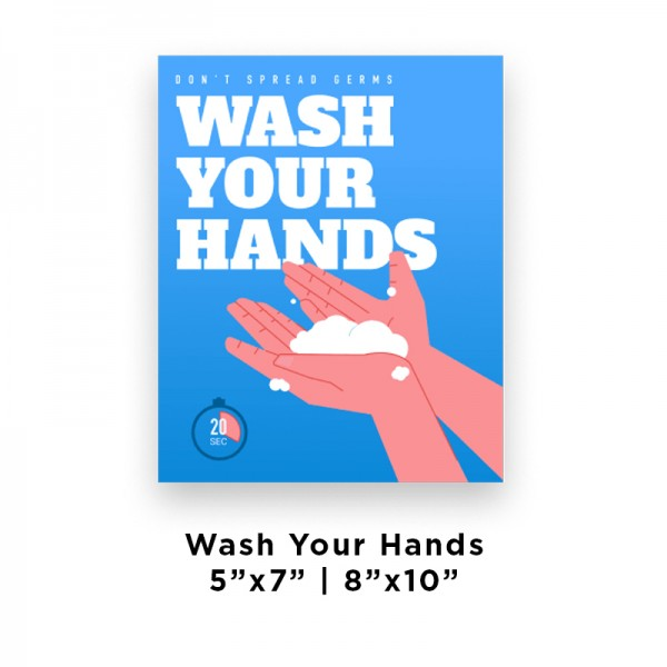 Health and Hygiene Wall Decals