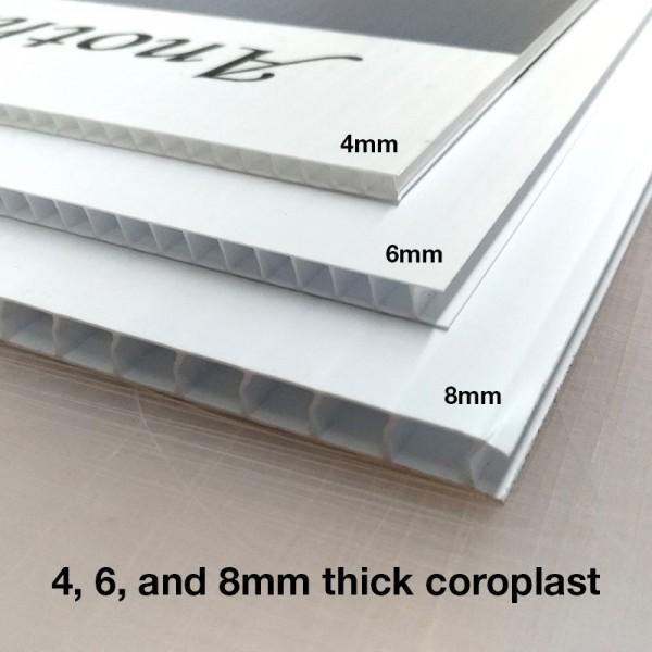 4mm Coroplast Lawn Signs
