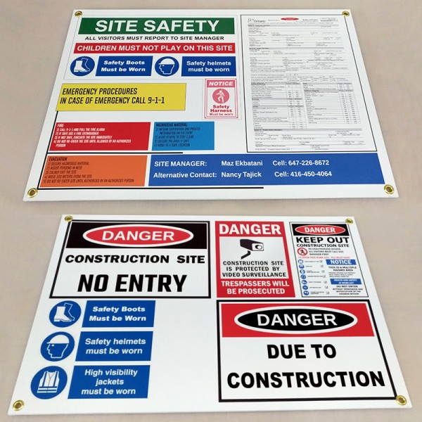 8mm Coroplast Real Estate Signs