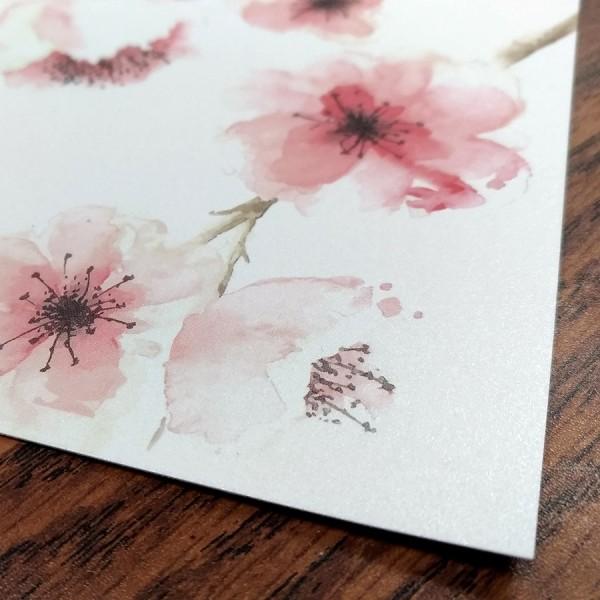 "5.5"" x 8.5"" Custom Printed Greeting Cards (Pearl Finish)"