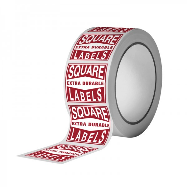 Square Extra Durable Labels