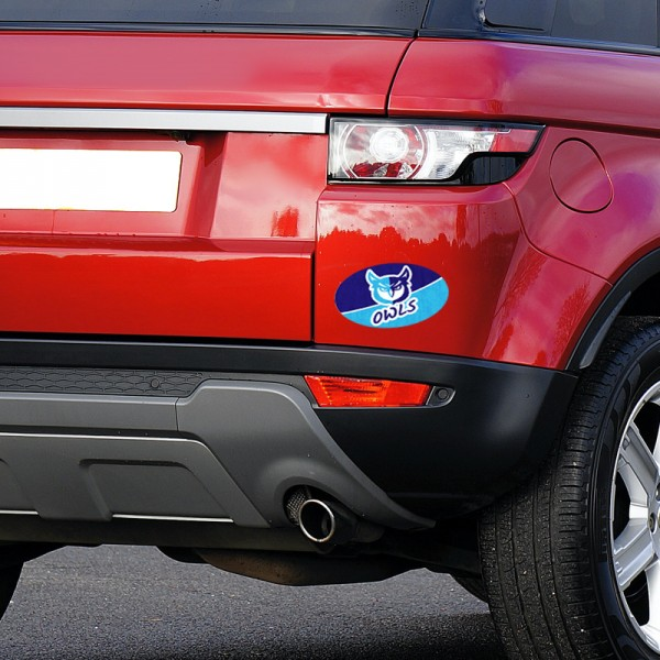 Durable Oval Bumper Stickers