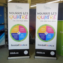 """Imagine Retractable Banner Stand - 31.5""""W x  83.5""""H"""