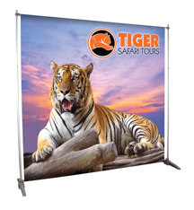 Telescopic Banner Stands