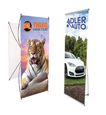 Spring Back Banner Stands