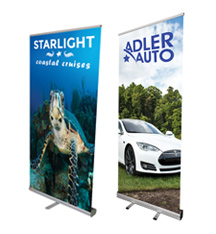Value Priced Retractable Banner Stands