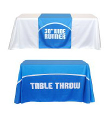 Trade Show Tablecloths and Runners