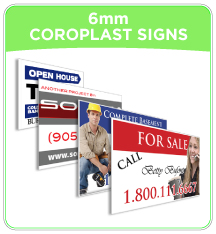6mm Coroplast Signs