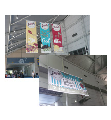 Double Sided Vinyl Banners