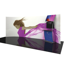 20' Formulate Horizontally Curved Trade Show Displays