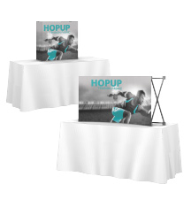 Hop Up Tabletop Displays