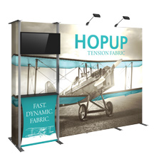 Dimension Fabric Trade Show Display Kits