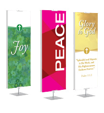 Church Praise Banner Stands
