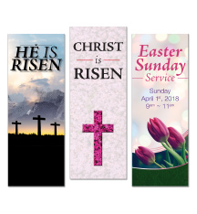 Indoor Easter Banners