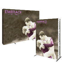 Push-Fit Fabric Tradeshow Displays