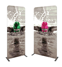 Pillowcase Fabric Banner Stands