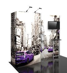 10ft Hybrid Modular Tradeshow Displays