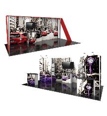 20ft Hybrid Modular Tradeshow Displays