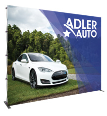 Fabric Backwall Displays