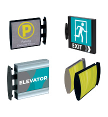 Custom Projecting Office Signs