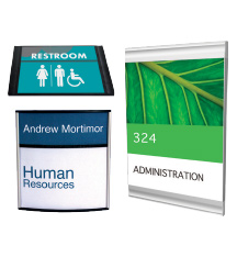 Interior Office Wall Signs