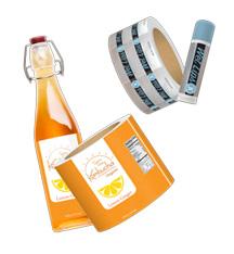 Polyester Waterproof Labels on Rolls