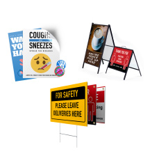 Social Distancing Signage for Businesses