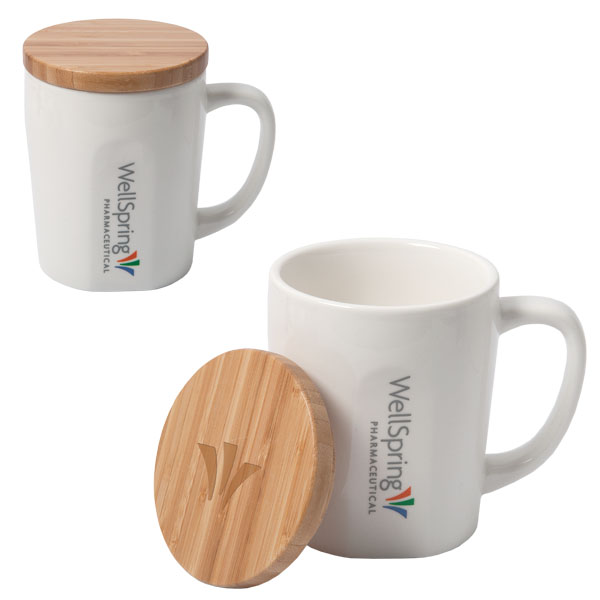 Bamboo Chic Mug with Bamboo Lid, D1-DA8787