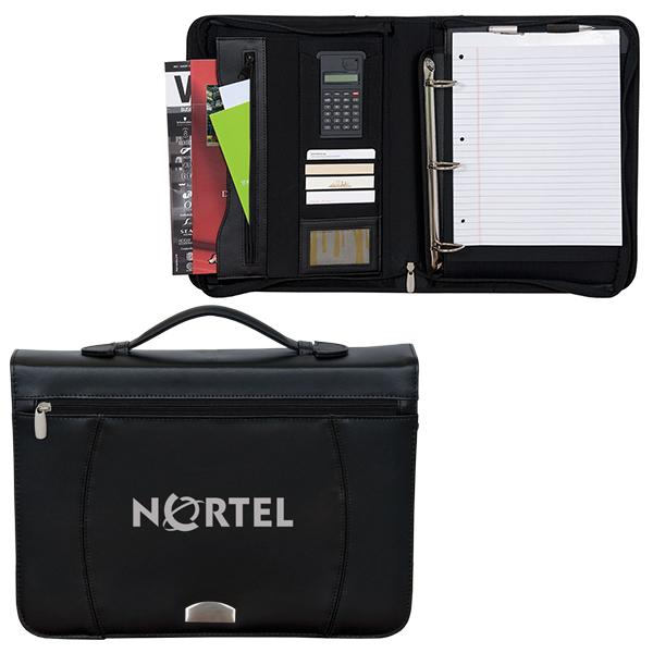 Zippered Notepad Binder, D1-BL3292