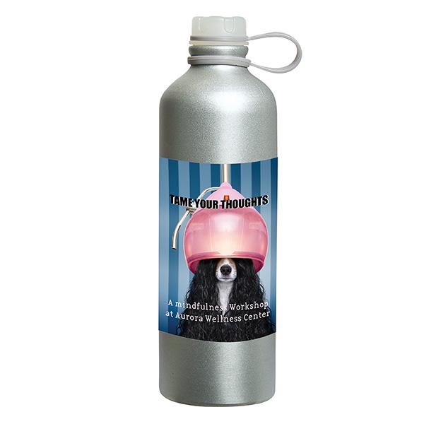 Freshy 750 ml (25 fl oz) Aluminum Bottle, D1-WB9641