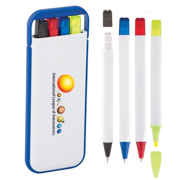 4-In-1 Pen Set, D1-PE4895